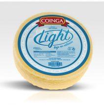 Light semi-matured cheese